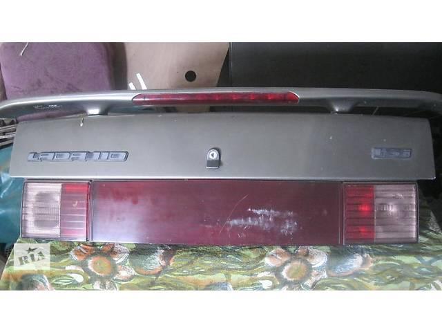 Б/у крышка багажника для седана ВАЗ 2110- объявление о продаже  в Бердичеве