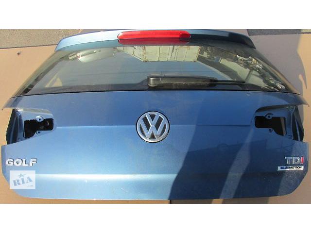 продам Б/у крышка багажника для седана Volkswagen Golf VII бу в Пустомытах (Львовской обл.)