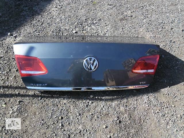 продам Б/у кришка багажника для седана Volkswagen Passat B7 2011-2015 бу в Львове