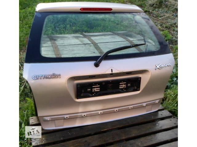 продам Б/у крышка багажника для универсала Citroen Xsara бу в Хмельницком