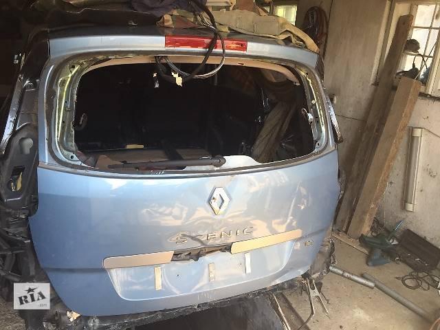 купить бу Б/у крышка багажника для универсала Renault Grand Scenic в Самборе