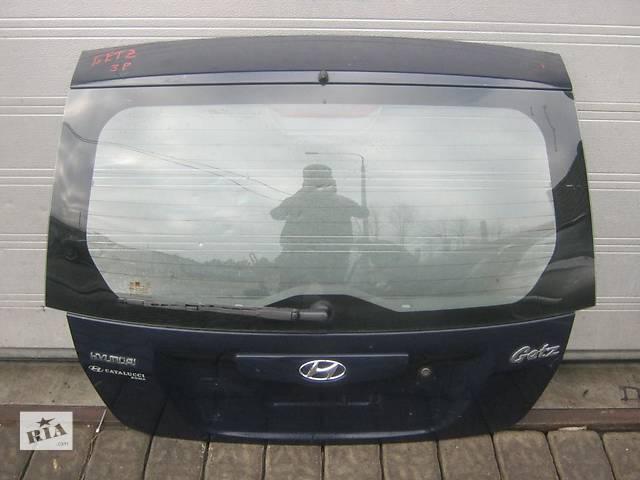 продам Б/у крышка багажника Hyundai Getz бу в Киеве