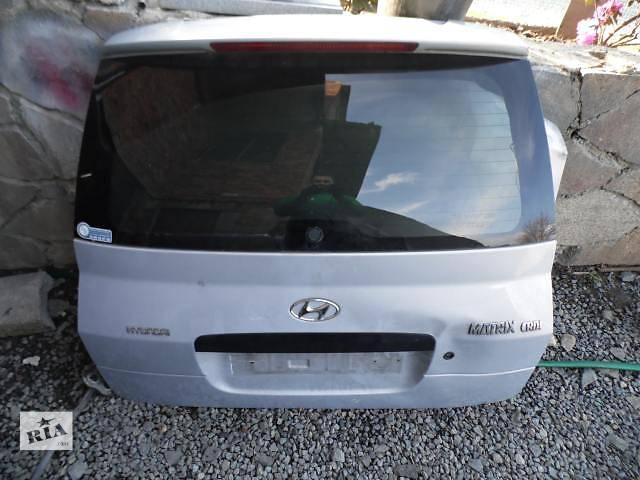 Б/у крышка багажника  Hyundai Matrix- объявление о продаже  в Киеве