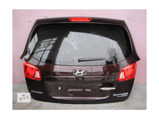 продам Б/у крышка багажника Hyundai Santa FE бу в Киеве