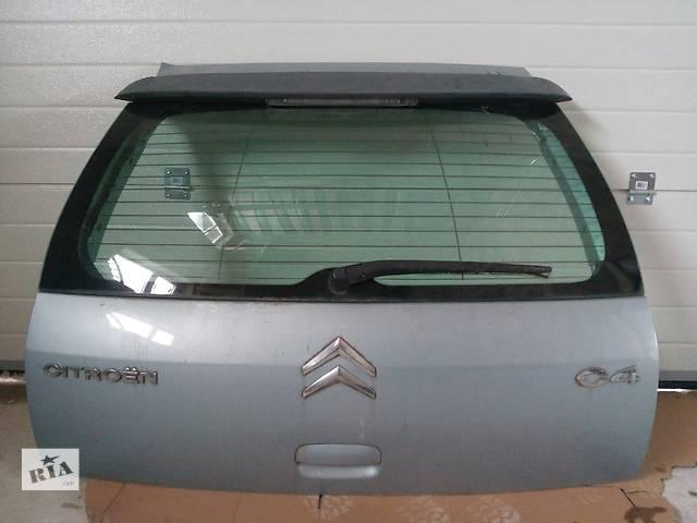 бу Б/у кришка багажника, кляпа, ляда для легкового авто Citroen C4 2006 в Калуше