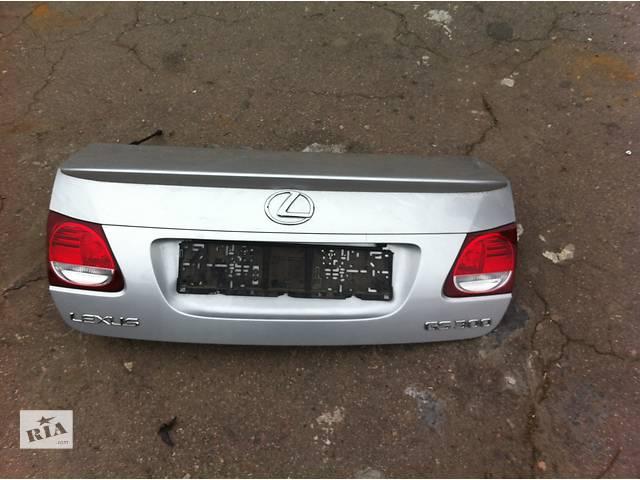 Б/у крышка багажника  Lexus GS- объявление о продаже  в Киеве