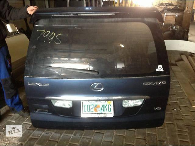 бу Б/у крышка багажника  Lexus GX в Киеве