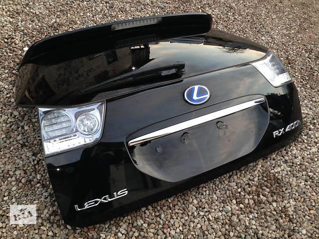 купить бу Б/у Крышка багажника Lexus RX 300 350 400 2004-2008 в Киеве
