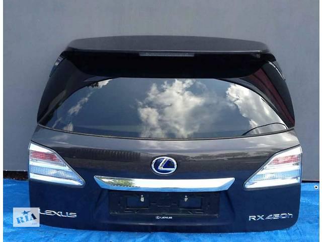 бу Б/у крышка багажника Lexus RX New в Киеве