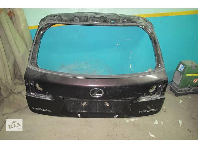 купить бу Б/у крышка багажника  Lexus RX в Киеве