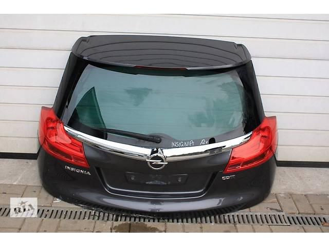 бу Б/у крышка багажника, ляда, кляпа для универсала Opel Insignia 08-13 в Калуше