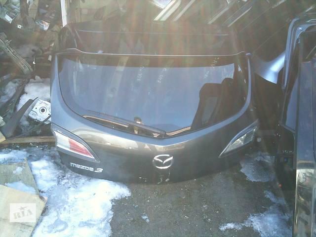 Б/у крышка багажника Mazda 3- объявление о продаже  в Киеве