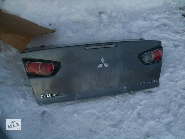 бу Б/у Крышка багажника Mitsubishi Lancer X в Киеве