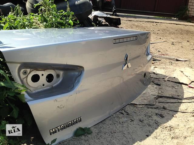 Б/у Крышка багажника Mitsubishi Lancer X- объявление о продаже  в Киеве