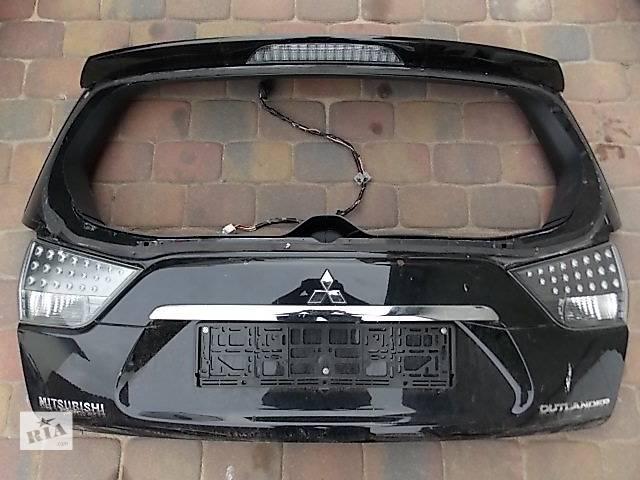бу Б/у Крышка багажника Mitsubishi Outlander XL в Киеве