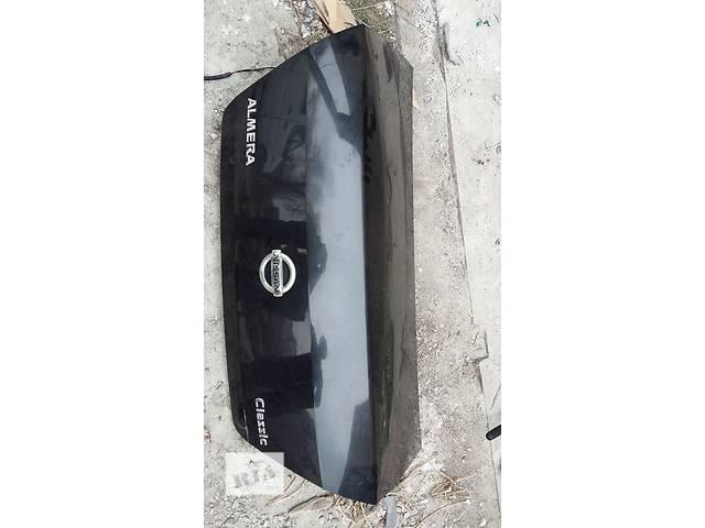 купить бу Б/у крышка багажника Nissan Almera Classic в Киеве