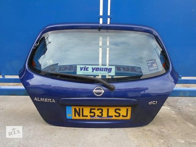 бу Б/у крышка багажника Nissan Almera Hatchback (5d) в Киеве