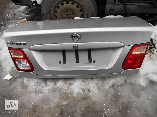 бу Б/у крышка багажника Nissan Almera в Киеве