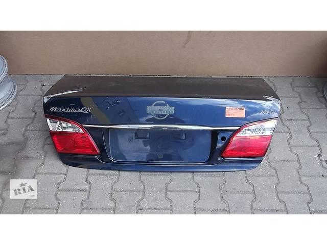 бу Б/у крышка багажника  Nissan Maxima в Киеве