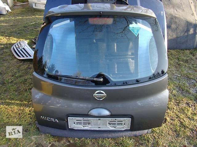 продам Б/у крышка багажника Nissan Micra бу в Киеве