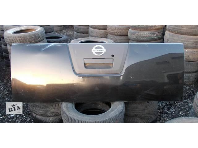 продам Б/у крышка багажника  Nissan Navara бу в Киеве
