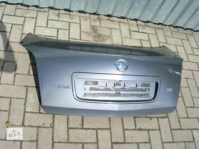 Б/у крышка багажника Nissan Primera- объявление о продаже  в Киеве