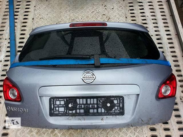 Б/у крышка багажника  Nissan Qashqai- объявление о продаже  в Киеве