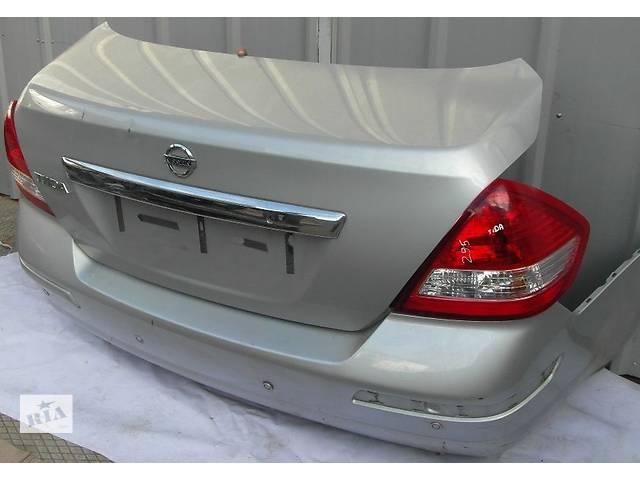 купить бу Б/у крышка багажника  Nissan TIIDA в Киеве