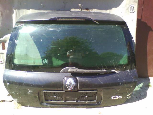 продам Б/у крышка багажника Renault Clio II Phase 2 хэтчбек 2004 бу в Броварах