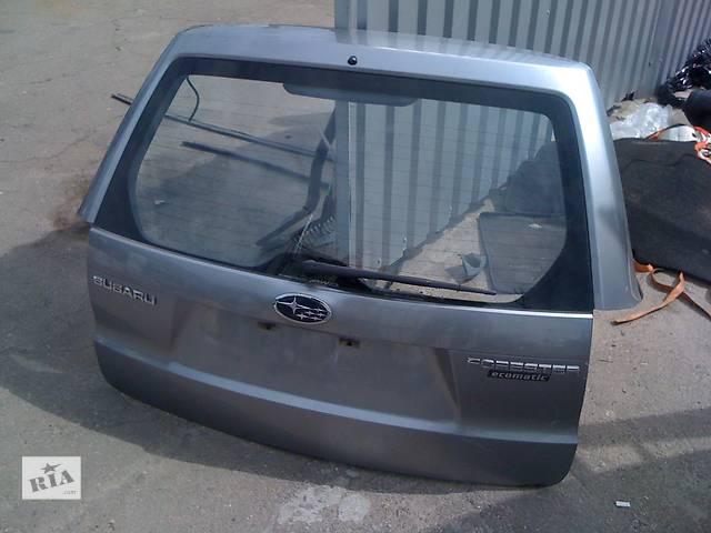 Б/у крышка багажника  Subaru Forester- объявление о продаже  в Киеве