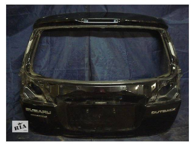 бу Б/у крышка багажника  Subaru Outback в Киеве