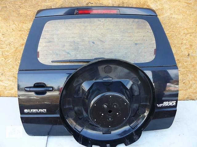 продам Б/у Крышка багажника Suzuki Grand Vitara 2006-2012 бу в Киеве