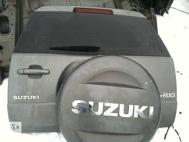 купить бу Б/у Крышка багажника Suzuki Grand Vitara в Киеве