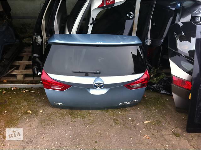 бу Б/у крышка багажника  Toyota Auris в Киеве