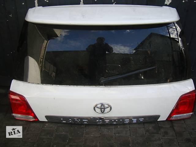 купить бу Б/у крышка багажника Toyota Land Cruiser 200 в Киеве
