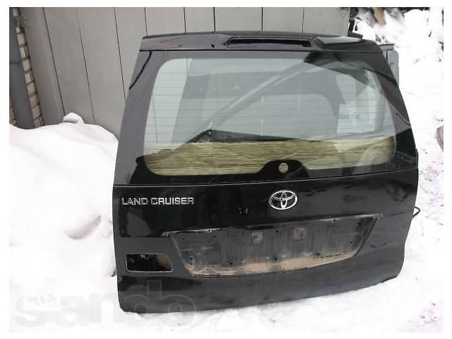 продам Б/у крышка багажника  Toyota Land Cruiser Prado 120 бу в Киеве