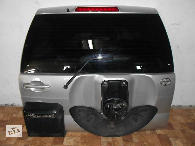 продам Б/у крышка багажника Toyota Land Cruiser Prado бу в Киеве