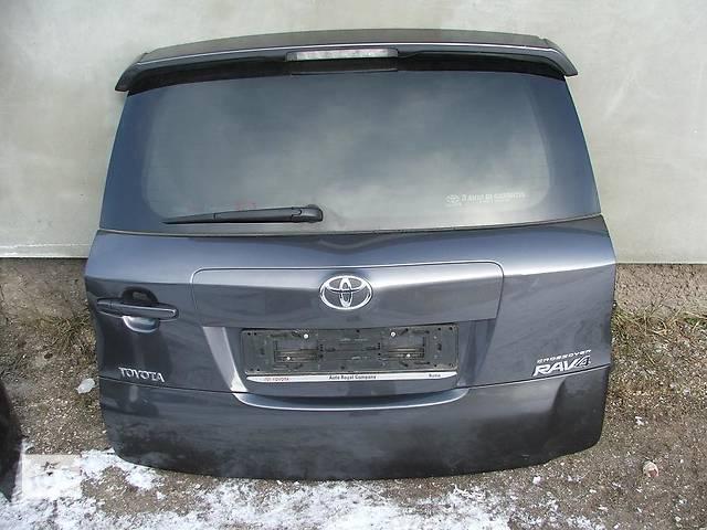 бу Б/у Крышка багажника Toyota Rav 4 в Киеве