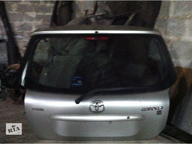 Б/у Крышка багажника и комплектующие Toyota Corolla Хэтчбек 2003-2007- объявление о продаже  в Львове