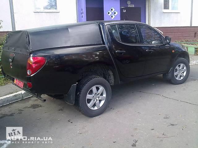 купить бу Б/у кунг на пикап для пикапа Mitsubishi L 200 в Киеве