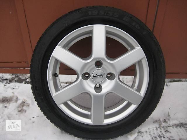 """купить бу Б/у л/с диски для легкового авто Nissan Note,""""Aluett""""(Germany),R16,6,5J*16,4*100,ET38,D=60,1 в идеале!!! в Житомире"""