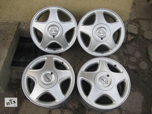 Б/у л/с диски для легкового авто Opel Astra Classic,R15,6J*15,4*100,ET49,D=56,6- объявление о продаже  в Житомире