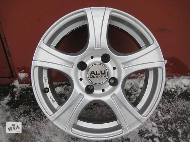 """продам Б/у л/спл.диски для легкового авто Citroen Berlingo,""""Alu Design""""(Germany),R15, 6,5J*15, 4*108, ET25, D=65,1 бу в Житомире"""