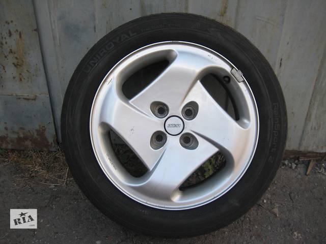 купить бу Б/у л/спл.диски для легкового авто Fiat QUBO,R15,6,5J*15,4*98,ET40,D=58,1 в идеале!!! в Житомире