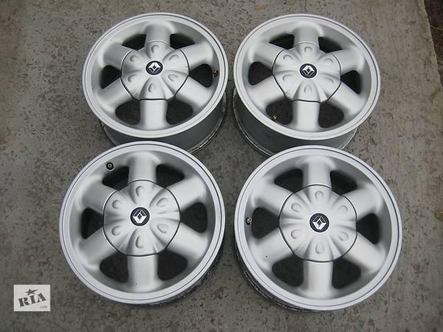 Б/у л/спл.диски для легкового авто Renault Logan,R14,6J*14,4*100,ET43,D=60,1- объявление о продаже  в Житомире