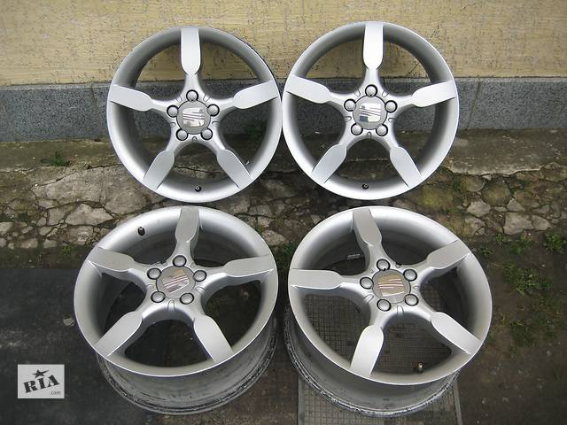 продам Б/у л/спл.диски для легкового авто Seat Leon,R17,7J*17,5*112,ET54,D=57,1 бу в Житомире