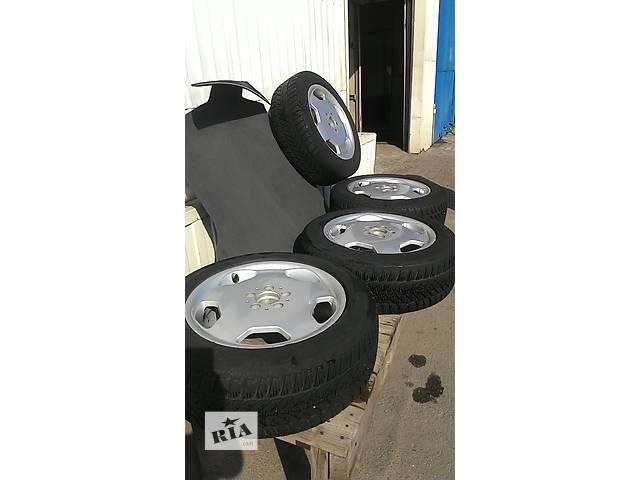 Б/у легкосплавные диски с резиной на 17 на мерседес,фольксваген 5Х112 - объявление о продаже  в Днепре (Днепропетровске)