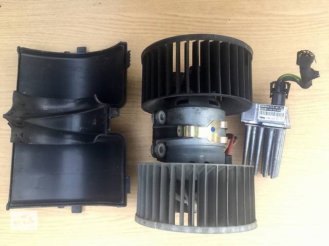 бу Б/у моторчик печки для легкового авто BMW 3 Series e46, e39, 2.0 TD,BEHR, Valeo в Тернополе