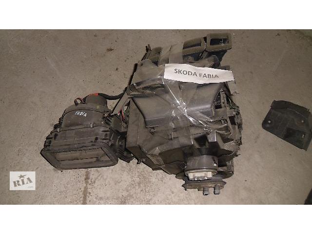Б/у моторчик печки для легкового авто Skoda Fabia 2009- объявление о продаже  в Коломые
