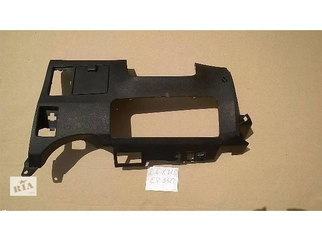 купить бу Б/у накладка торпедо пластик под руль 55302-33180-C0 для седана Lexus ES 350 2007г в Николаеве